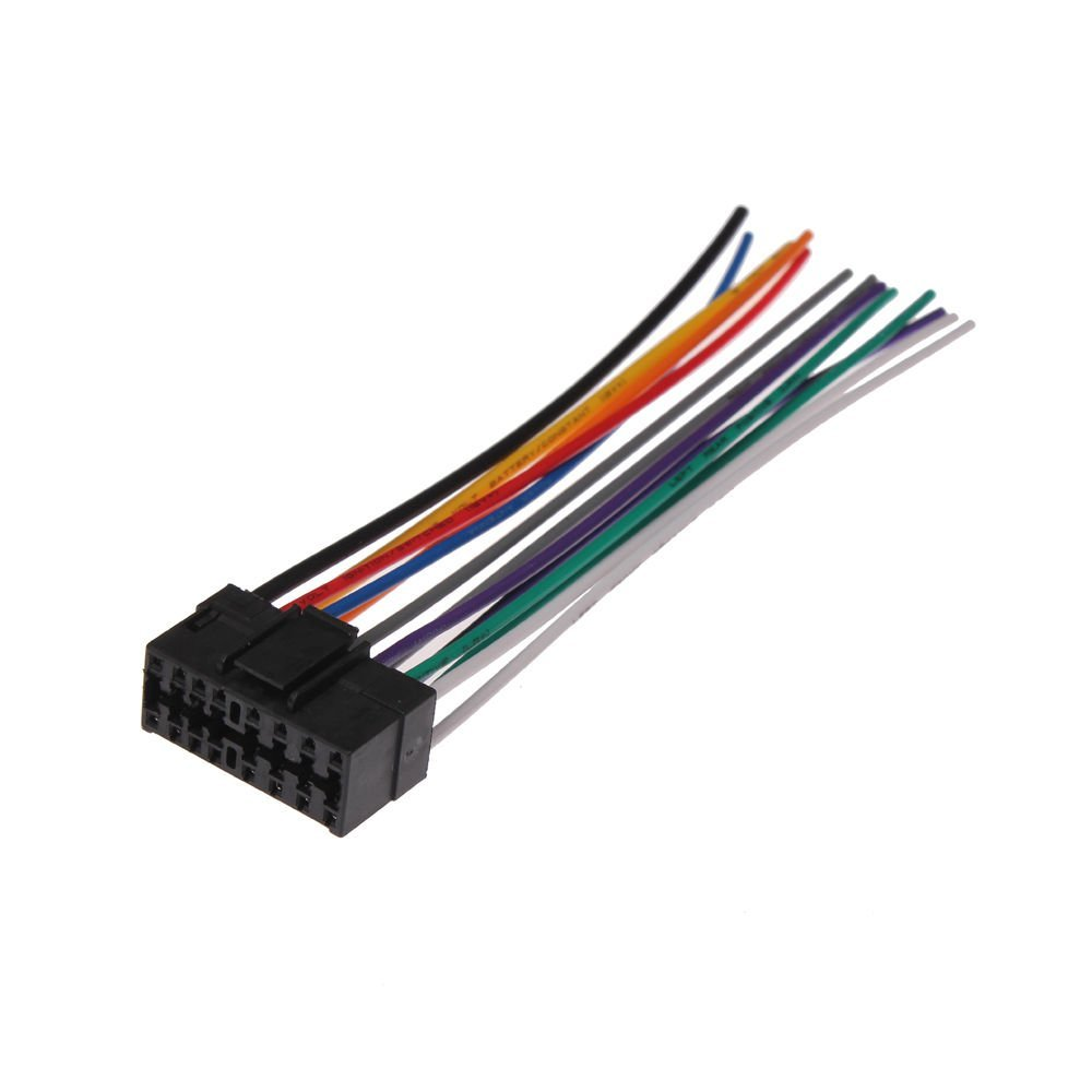 online get cheap car wiring harness aliexpress com alibaba group moonet car stereo cd player wire harness aftermarket radio stereo connect wiring fit sony jvc qx125