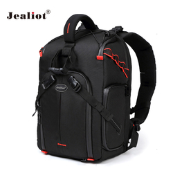 Jealiot camera backpack bag dslr photo waterproof laptop Tripod Flash Inserts bag Lens case for canon 40d Nikon Sony Accessorie