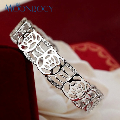 MOONROCY Jewelry Rose Gold...