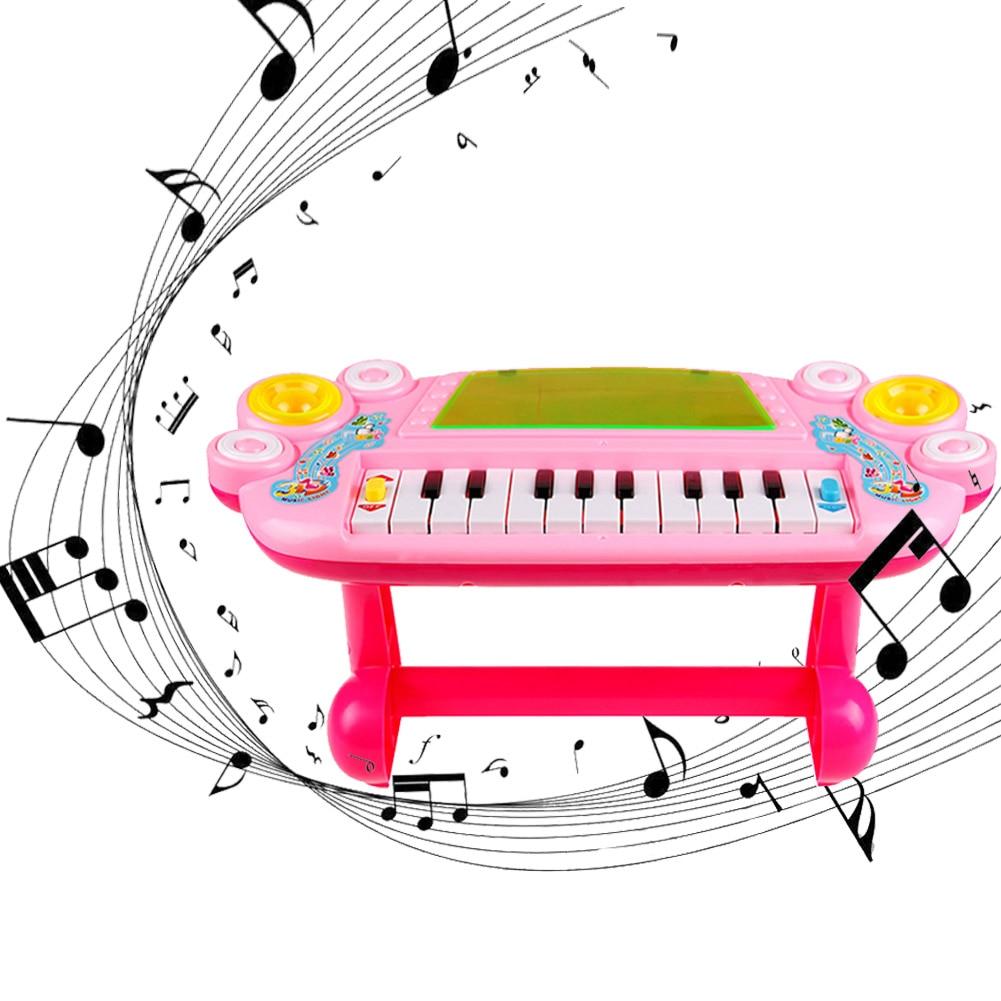 Baby Mini Cute Piano Music Toy Kids Musical Educational Piano Cartoon Animal Farm Developmental Toys For Children Gift
