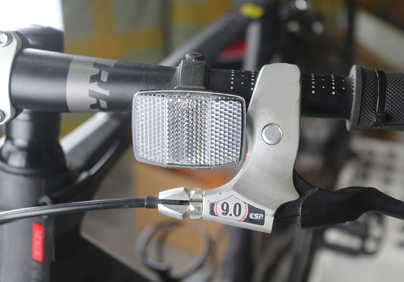 Bicycle Front Rear Reflective Lens Mtb Road Bike Automatic