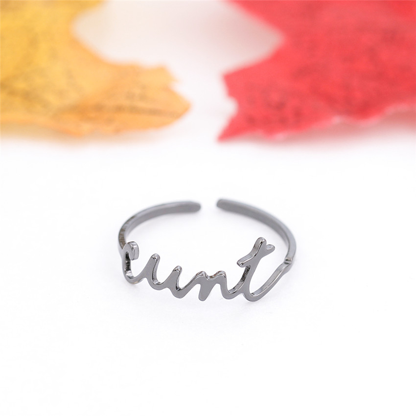 ALI shop ...  ... 32806395853 ... 3 ... Free Size Gold Silver Stackable Custom Personalized Name Ring For Women Best Friends Wedding Stainless Steel Christmas Gifts  ...