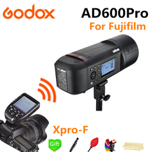 купить Godox AD600Pro 2.4G Wireless X System TTL Outdoor Li-Battery Studio Flash Strobe Light + Xpro-F Flash Trigger for Fujifilm FUJI по цене 70211.43 рублей