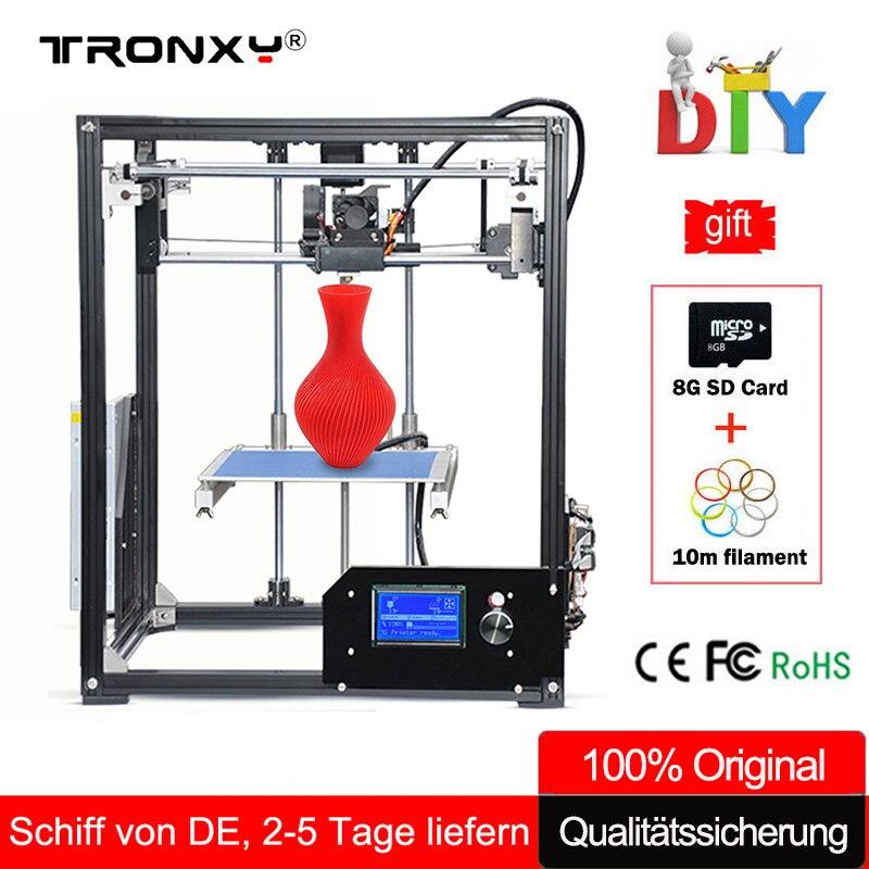 Tronxy 3D Drucker Kit Große 3D Druck Bereich 210*210*280mm LCD ...