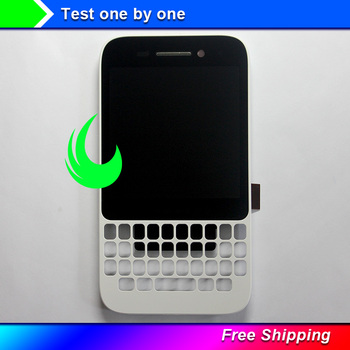 цена на New Original For Blackberry Q5 LCD Display+Touch Screen Digitizer Assembly With Frame Replacement For Blackberry Q5 LCD Display