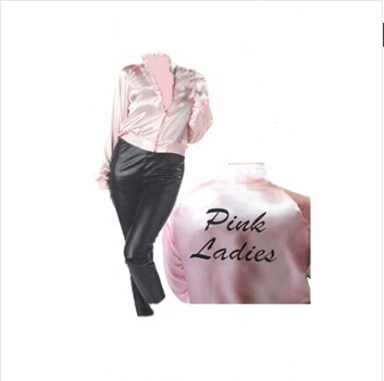 Online Buy Wholesale grease pink ladies jacket from China grease