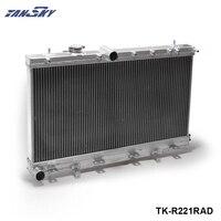 TANSKY-Turbo Için 2 Satır Performans Alüminyum Radyatör Subaru Impreza WRX STI GDB GD8 GD 04-07 TK-R221RAD