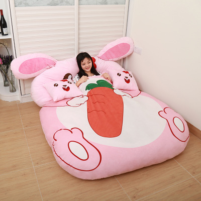 Gifts For Children Cartoon Rabbit Cartoon Mattress, Cushion, Lovely And Comfortable Size Of Queen Full