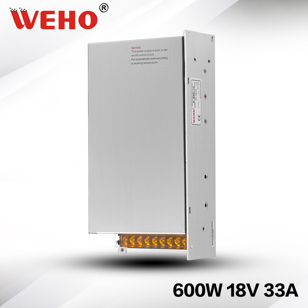 (S-600-18) 600W 18v 33a switching power supply with CE ROHS approved цена и фото