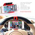 Universal Car Steering Wheel Bike Clip Mount Holder Car Phone Holder For cell phone/ iphone /Samsung /LG/GPS Selfie Hot