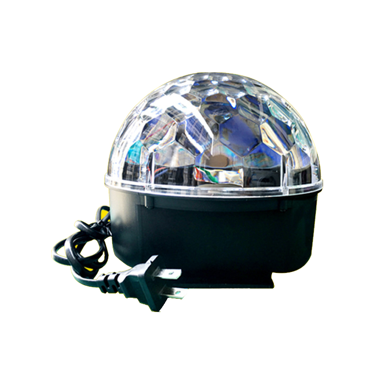 Led automatic rotating crystal magic ball stage effect lights disco lights sound magic lights