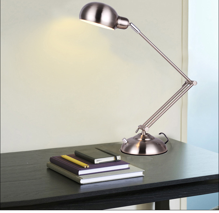 Foldable table light desk light lamp Long LED Arm Desk Lamps Flexible LED Office Table Lights Verlichting Escritorio Lights remote control led light creative monje smart air purifier wireless night lights sensor lamps gift table desk lamp