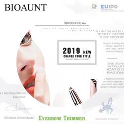 Новый бренд 5 цветов Электрический триммер для бровей Макияж Мини бровей Бритва Портативный эпилятор для лица для удаления волос для Для