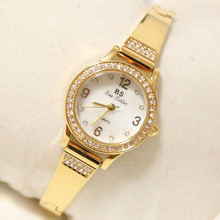 New hot sale gold silver rose gold Arabic digital watch chain custom rhinestone female watch bracelet buckle Fashion & Casual цена 2017
