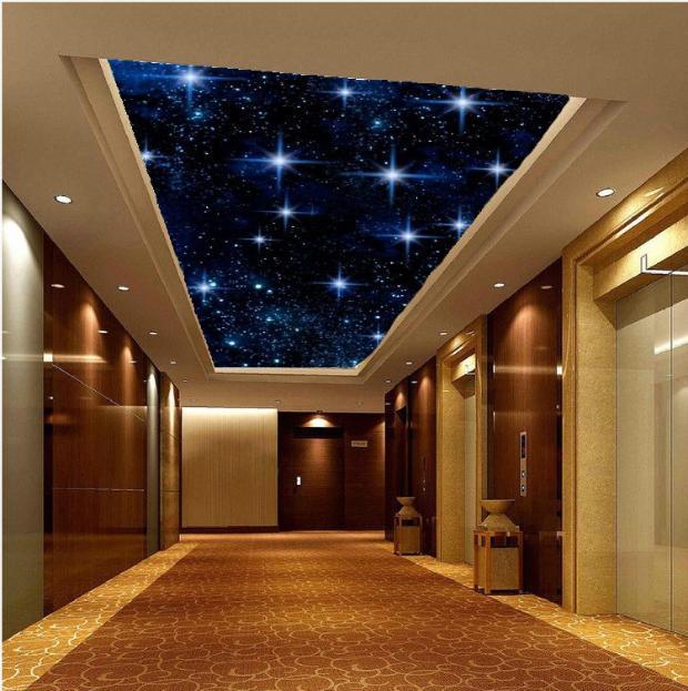 Berühmt Individuelle fototapeten 3D stereo wandbild tapete blauen himmel FU74
