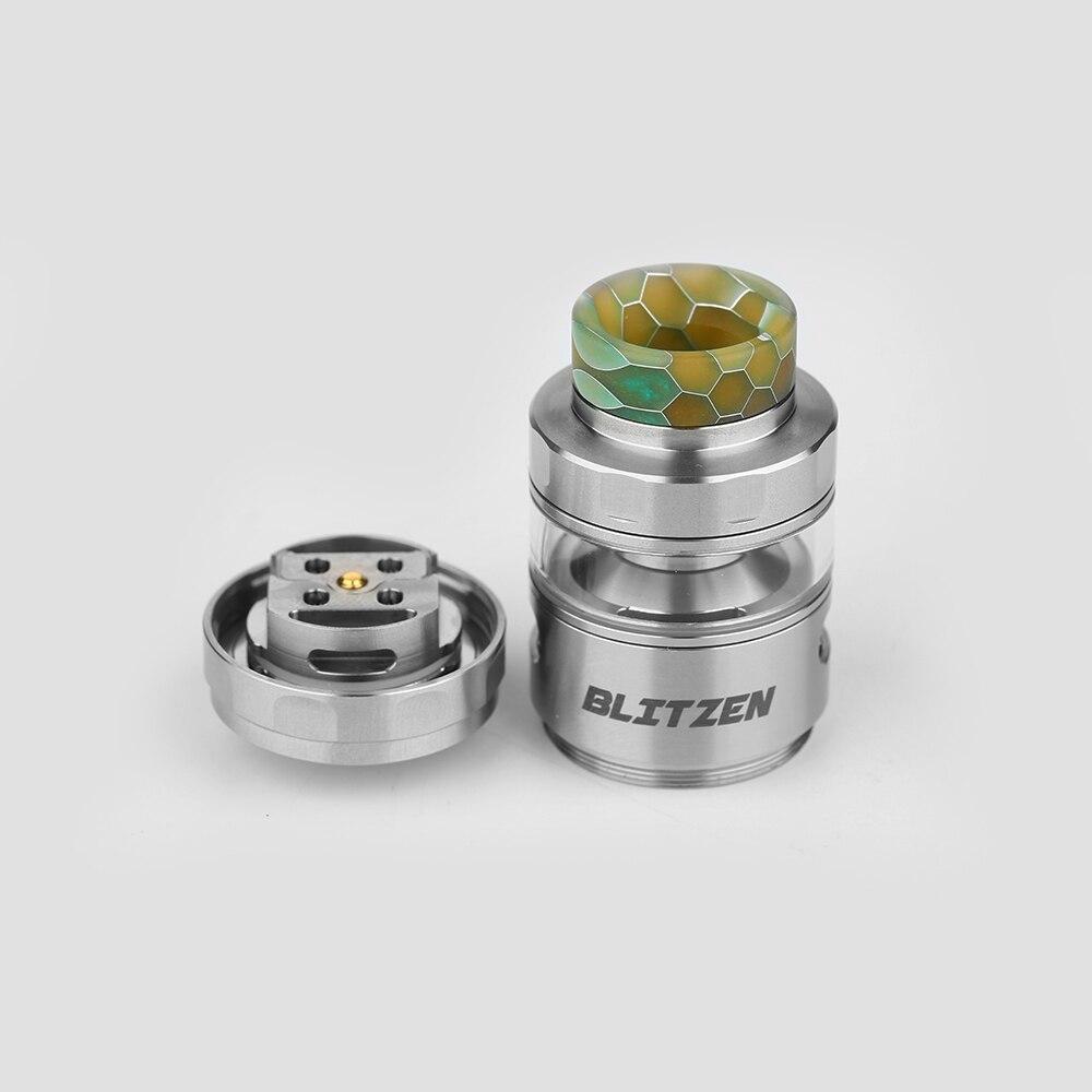 Original GeekVape Blitzen RTA Atomizer 2ml/5m Capacity 24mm Diameter Tank Support Dual & Single Coil For e cigs Box Mod