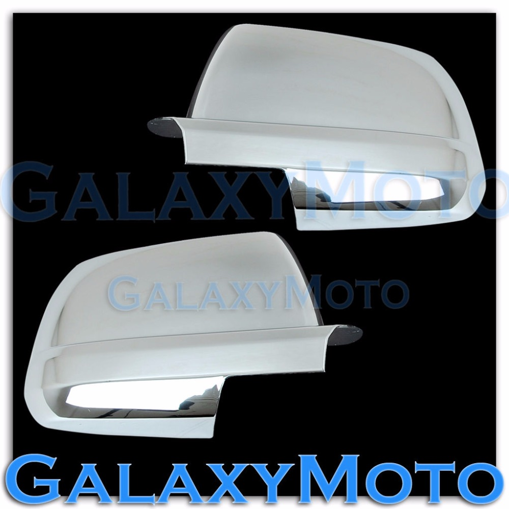 XYIVYG 07-15 for Toyota Tundra CrewMax double cab Chrome Full Mirror Cover Pair left+right