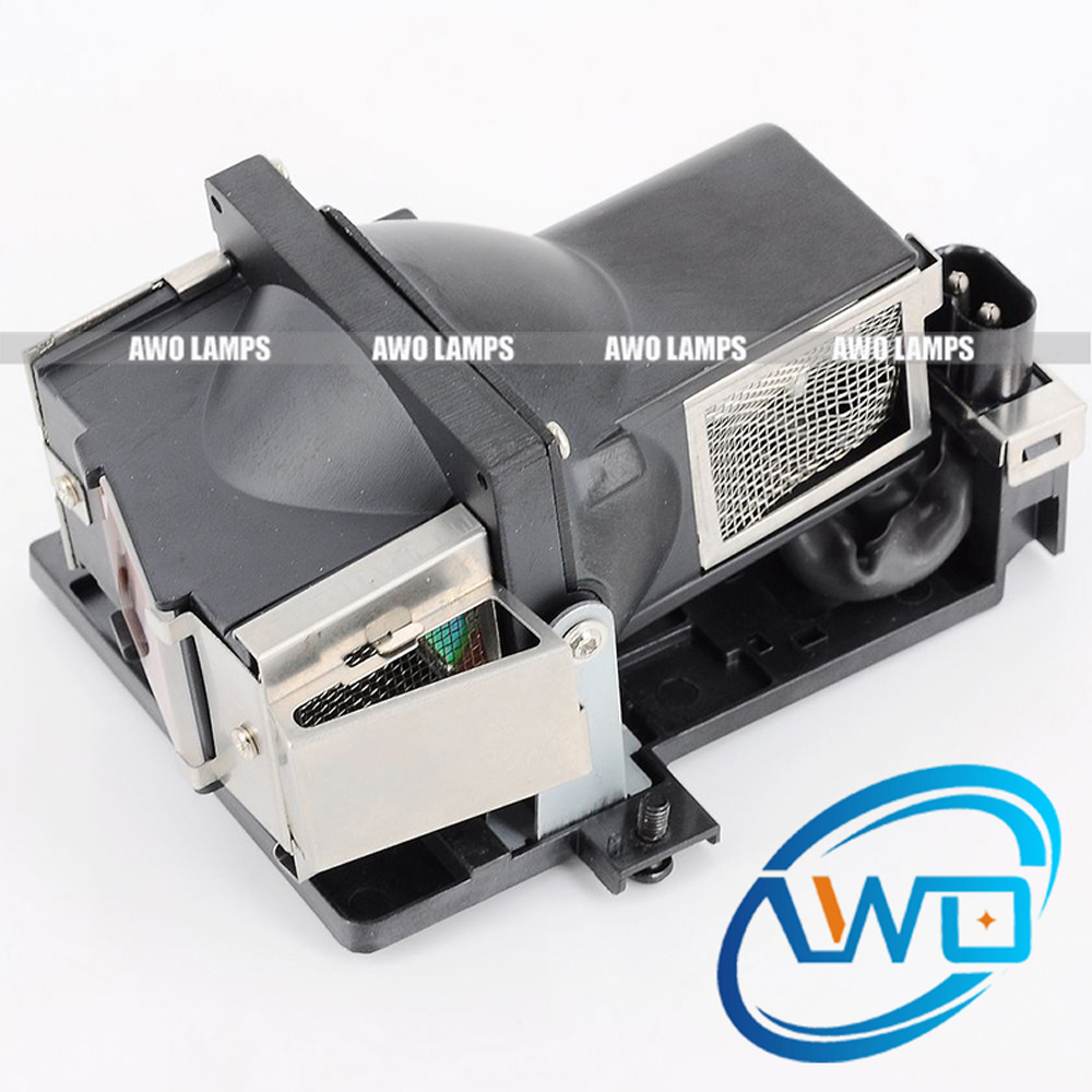 AWO Replacement Projector Lamp 5811100235-S with Housing for VIVITEK D326MX D326WX 180 Day Warranty awo high quality projector lamp sp lamp 079 replacement for infocus in5542 in5544 150 day warranty