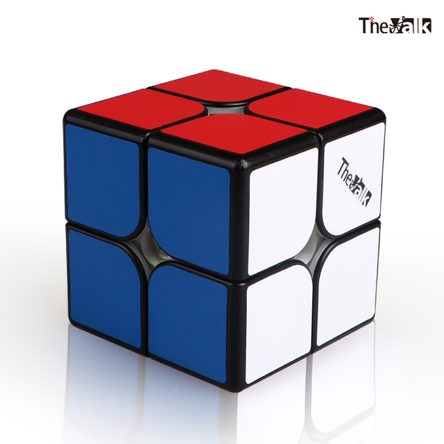 QIYI The Valk 2M 2x2x2 Magnetic Speed Cube Valk 2 Packet Cubes Mofangge WCA Competition Cubes Magnet Puzzle Magic Cubes valk2 M