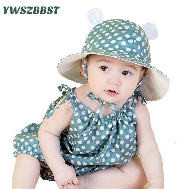 Summer Baby Sun Hat Toddler Hat Baby Girls Sun Cap Boys Sun Hats Baby  Clothing accessories fit 5 Months to 3 Years old a6bd86003e0
