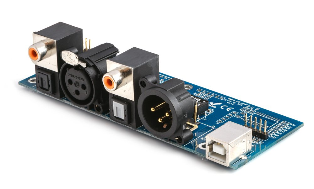 Digital Input And Output Interface Board For DIGI-FP MiniDSP Kit