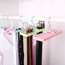 Display Rack Tie Belt Organizer Multifunction Holder Hang Practical Hook Closet Tank Durable Bedroom Tool