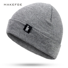 Letter True Casual TRUE Winter Casual Hip Hop Beanies Hat For Men Women Knitted Hats Crochet Ski Cap Warm Skullies Gorros недорго, оригинальная цена