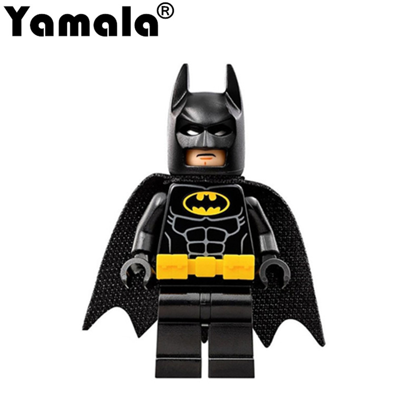 [Yamala] Heroes Batman Movie Mini Set Harley Quinn Joker Harley Quinn Robin Building Blocks Toys Compatible with Legoingly City