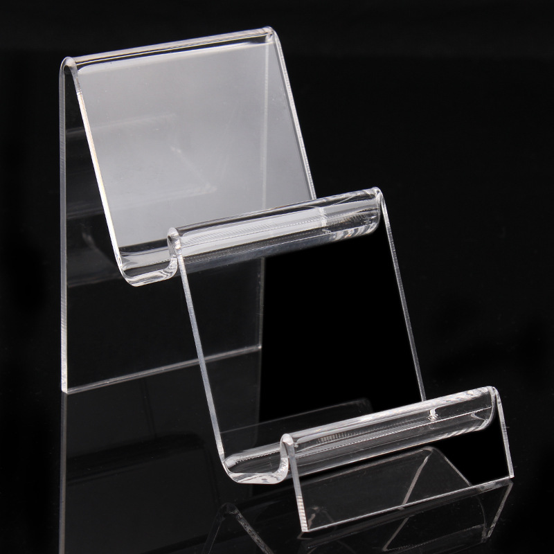 Two Tiers W7cm Acrylic Purse Wallet Bag Iphone Book
