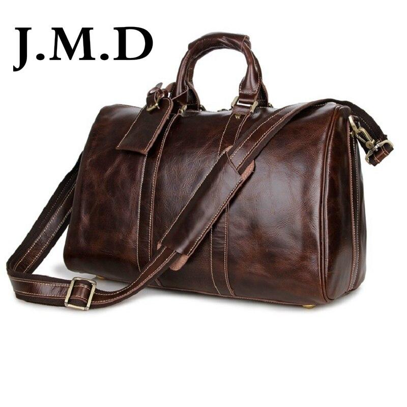 J M D 2017 New Arrival 100 Men s Fashion font b Leather b font Bag