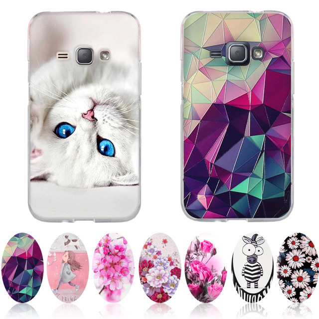 Bag For Samsung Galaxy J1 2016 J120 J120F Case 4.5' Cover Soft TPU Fundas Coque For Samsung J1 2016 J1 6 SM-J120F/DS Phone Cases
