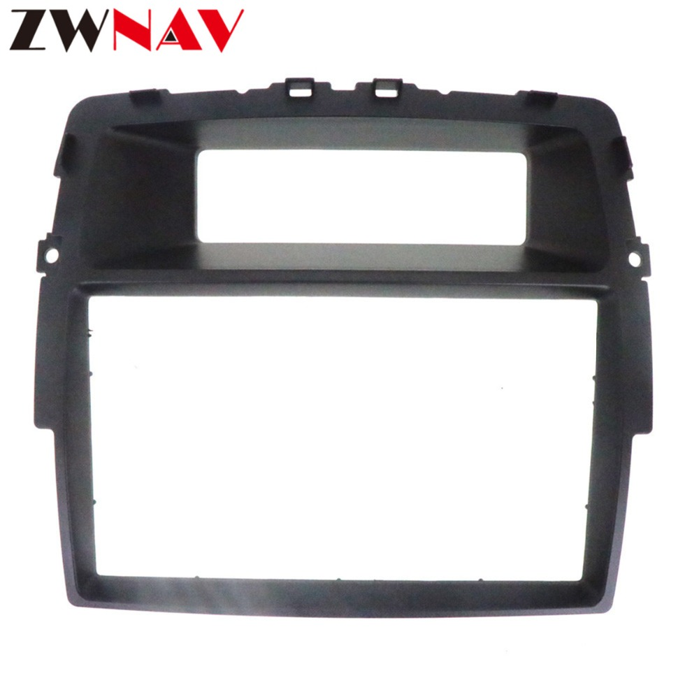 Car DVD Player frame For NISSAN Primastar 2011 2014 / OPEL Vivaro 2010 2014 2DIN Auto AC Black LHD RHD Auto Radio Multimedia-in Fascias from Automobiles & Motorcycles    2