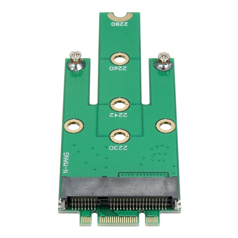 SSD mSATA To B key M.2 NGFF SATA Adapter Converter Adapter Card Board for Laptop Desktop High Quality wbtuo lm 211n v1 0 msata to m 2 ngff ssd adapter card green