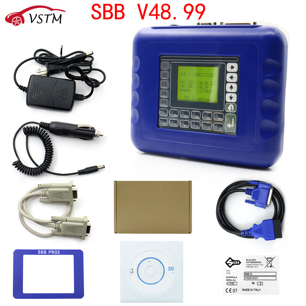 New arrived SBB V48 99 V48 88 SBB Pro2 Key Programmer Support Cars to 2018 Replace