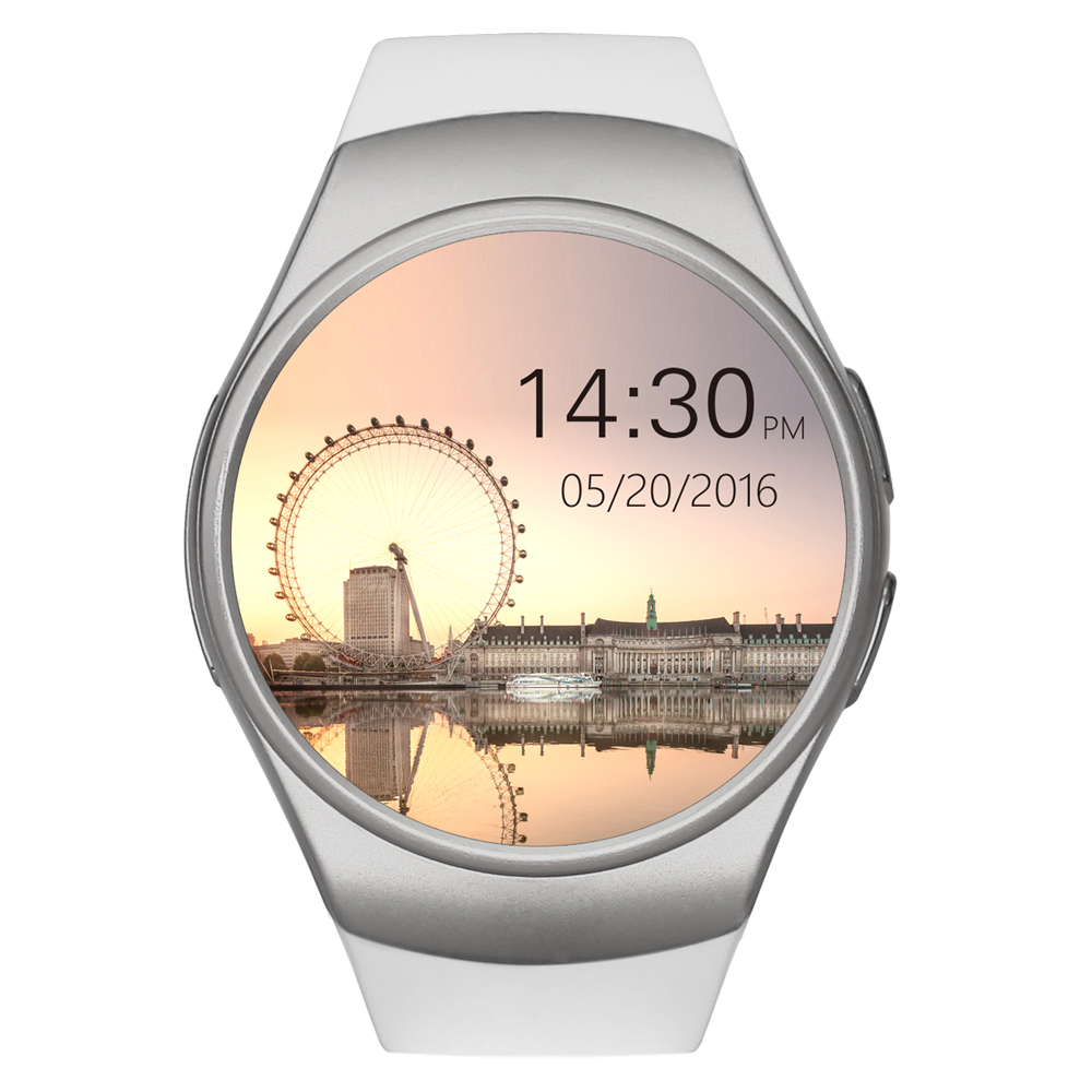 2017 KW18 Bluetooth smart watch full screen Support SIM TF Card Smartwatch Phone