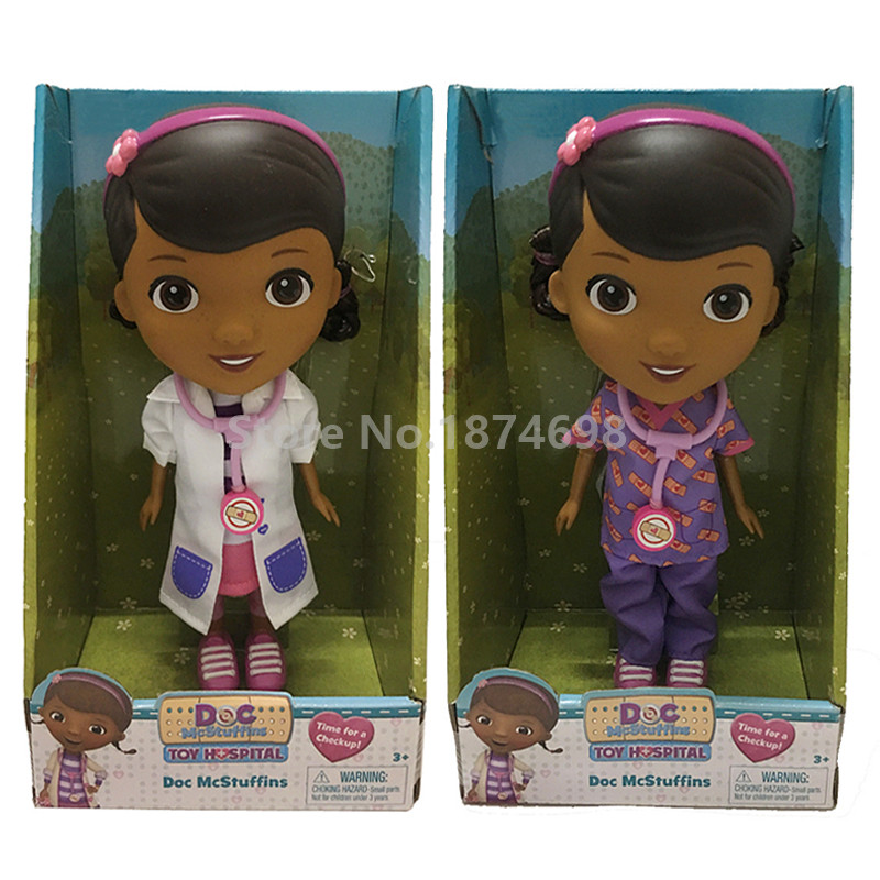 New Doc McStuffins Toy Hospital Doc Doll Figure Toy 23cm Kids Toys for Children Girls Gifts