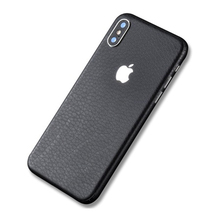 Leather Striae Sticker Protector Case Cover Skin For iPhone 6 6S 7 8 Plus X Back Film Thin Protector Protective Cover matte protective front back cover skin sticker for iphone 4 4s green