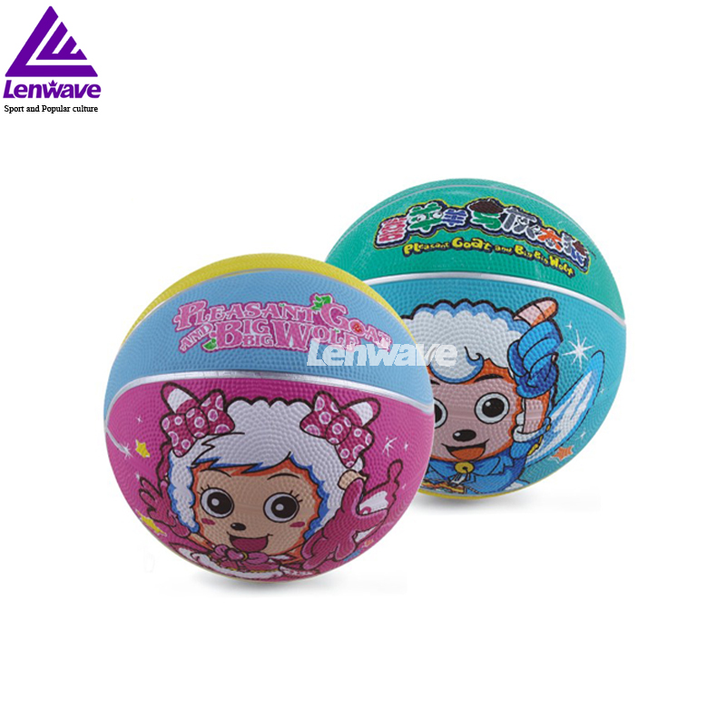 Aliexpress.com : Buy Kids Size 3 Rubber Basketball Ball Color Send ...