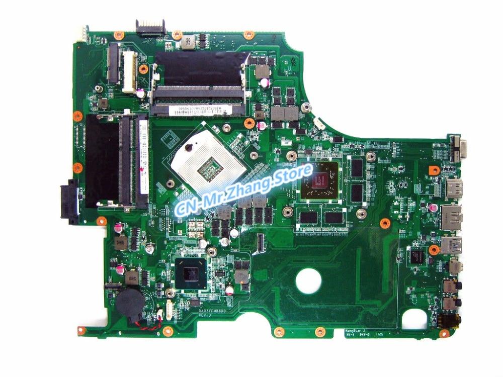 SHELI FOR font b Acer b font aspire 8950G Laptop Motherboard DA0ZYFMB8D0 MBRCR06002 MB RCR06 002