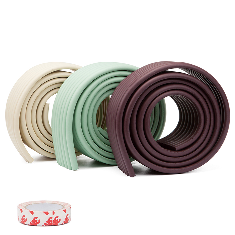 Edge Corner Guards Table Edge Furniture Guard Strip Foam Bumper Soft Cover Toddler Baby Safety Products Corner Protection 1Pc 2M