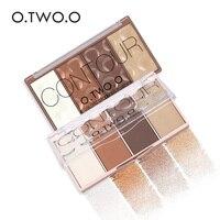 O.TWO.O 4Colors Concealer Palette Face Makeup Base Contouring Palette Foundation Concealer Powder