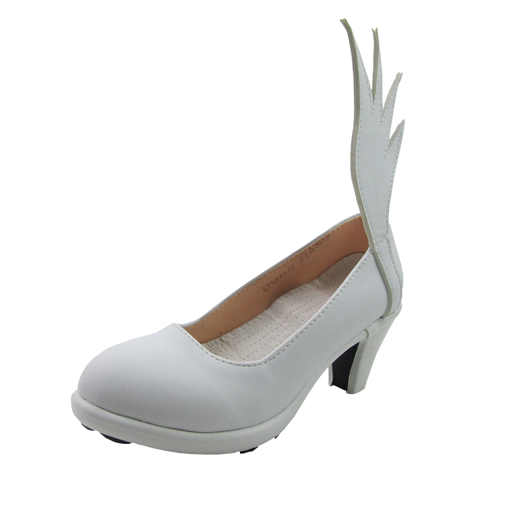 Puella Magi Madoka Magica Magica Quartet Women 39 s kaname madoka combats Cosplay custom high heeled wings shoes in Shoes from Novelty amp Special Use