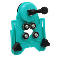 Adjustable 4 80mm Ceramic Porcelain Drill Bit Cutter Tile Glass Openings Locator Hole Saw Core Guide