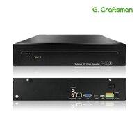16CH 4 K 32CH 5MP H.265 NVR 485 внешний сигнал тревоги сети видео Регистраторы 2 HDD Onvif P2P для IP Камера безопасности Системы г. Ccraftsman