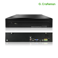 16CH 4K 32CH 5MP H.265 NVR 485 External Alarm Network Video Recorder 2 HDD Onvif P2P For IP Camera Security System G.Ccraftsman