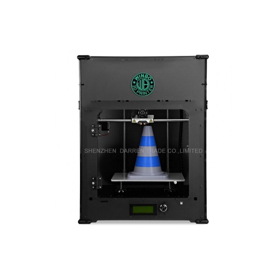 Mini imprimante 3D en trois dimensions port USB port LAN écran LED pla 3d imprimante ABS 3d sérigraphie
