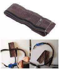 Mig Toorts Mouw Lassen Pistool Kabel Cover 10Cm X 3.5M (4in X 11.5ft) top Split Rundleer Ce Tig/Mig/Plasma Kabel Mouwen