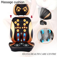 Relaxation Cervical massage device Massage pillow electric body massager back cushion massager health care Free shiping