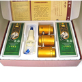 Cupping And Moxibustion Box Portable Instrument Vacuum Tank With Ai smoked Wormwood Vurner Cans Cupping Moxibustion+20pcs Moxa