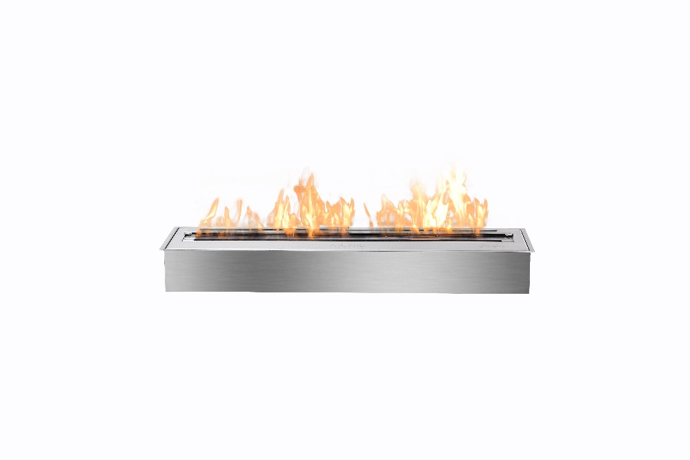 on sale  fireplace with stainless steel burner 24 inch indoor fire place цены онлайн